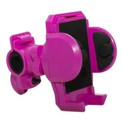 Suport bicicleta Serioux pentru telefon, Pink