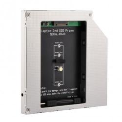 Suport montare Gembird Slim 5.25inch pentru NGFF (M.2) SSD, 9.5mm