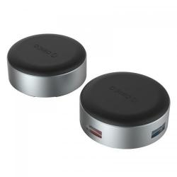 Suport Orico ANS1 Aluminum, 3x USB 3.0, Silver