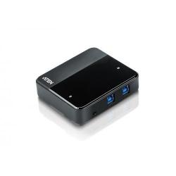 Switch ATEN US234-AT, 4x USB 3.0, 2x USB-B female, Black