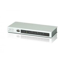 Switch KVM ATEN VS481B, 4x HDMI, White