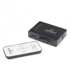 Switch KVM Gembird, 5x HDMI, Black