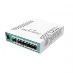 Switch MikroTik CRS106-1C-5S L5, 1x LAN/SFP, 4x SFP