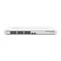 Switch MikroTik CSS326-24G-2S+RM, 24x LAN, 2x SFP+, PoE