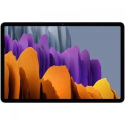Tableta Samsung Galaxy Tab S7, Snapdragon 865+ Octa Core, 11 inch, 128GB, Wi-Fi, Bt, 4G, Android 10, Mystic Silver