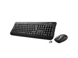 Kit Wireless Gigabyte KM7590 Tastaura USB, Black + Mouse optic, USB, Black