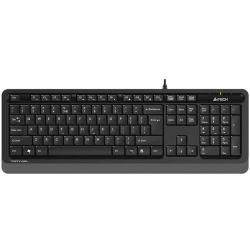 Tastatura A4Tech FStyler FK10, USB, Black-Grey