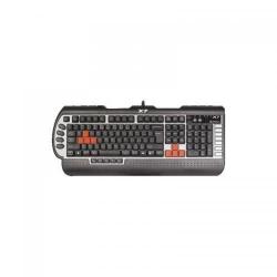 Tastatura A4tech G800V, USB, Black-Silver