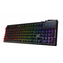 Tastatura Asus Cerberus Mech RGB LED, USB, Black