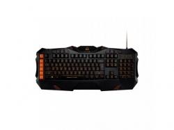 Tastatura Canyon Fobos, Orange Led, USB, Black-Orange