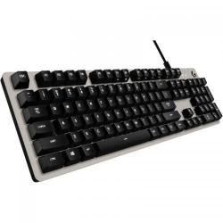Tastatura Logitech G413, USB, Silver-Black