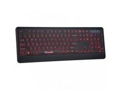 Tastatura Marvo K627, Multi-Color LED, USB, Black