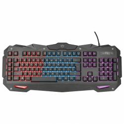 Tastatura Trust GXT 840 Myra, RGB, USB, Black