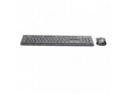 Kit Wireless Gembird - Tastatura, USB, Black + Mouse Optic, USB, Black