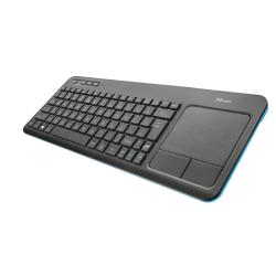 Tastatura Wireless Trust Veza, USB, Black