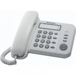 Telefon analogic Panasonic KX-TS520FXW, Alb