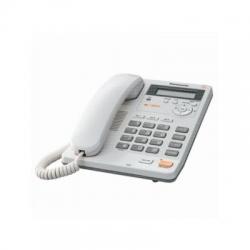 Telefon analogic Panasonic KX-TS880FXW cu caller ID, speaker, Alb