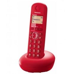 Telefon Fix Panasonic KX-TGB210FXR, red