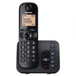 Telefon Fix Panasonic KX-TGC220FXB, black