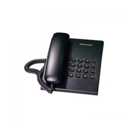 Telefon Fix Panasonic KX-TS500RMB, black
