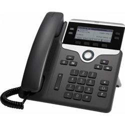 Telefon IP Cisco 7841, display monocrom, Black