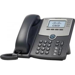 Telefon IP Cisco SPA508G cu Display PoE si PC Port