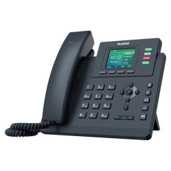 Telefon IP Yealink SIP-T33G, 4 Conturi SIP, PoE, Classic Grey