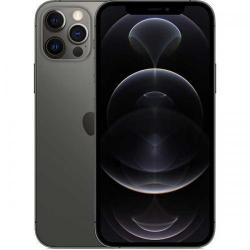 Telefon Mobil Apple iPhone 12 Pro, Dual SIM, 128GB, 6GB RAM, 5G, Graphite