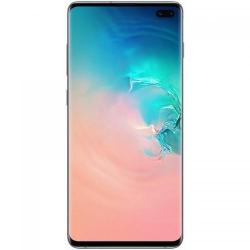 Telefon Mobil Samsung Galaxy S10 Plus, Dual Sim, 128GB, 4G, Prism White