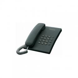 Telefon Panasonic KX-TS500RMB analogic, negru