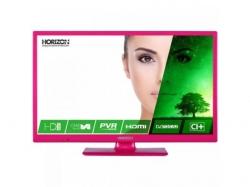 Televizor LED Horizon 24HL7122H Seria HL7122H, 24inch, HD Ready, Pink