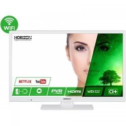 Televizor LED Horizon Smart 24HL7331F Seria HL7331F, 24inch, Full HD, White