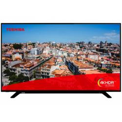 Televizor LED Toshiba Smart 55U2963DG, Seria U2963DG, 55inch, UltraHD 4K, Black