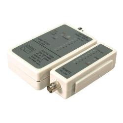 Tester cablu de retea RJ-45/BNC Logilink WZ0011