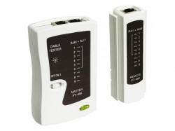 Tester de retea pentru RJ11, 12, 45 Goobay; Cod EAN: 4040849688560
