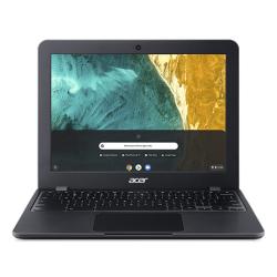 Ultrabook Acer Chromebook Spin 512 C851-C1Q5, Intel Celeron Dual Core N4120, 12inch, RAM 8GB, eMMC 64GB, Intel UHD Graphics 600, Chrome OS, Shale Black