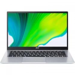 Ultrabook Acer Swift 1 SF114-33-C3KC, Intel Celeron Quad Core N4120, 14inch, RAM 4GB, SSD 256GB, Intel UHD Graphics 600, Windows 10, Pure Silver
