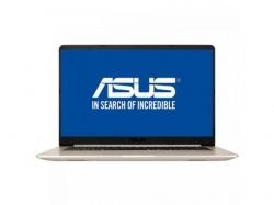 Ultrabook ASUS VivoBook S15 S510UA-BQ462, Intel Core i7-8550U, 15.6inch, RAM 8GB, SSD 256GB, Intel HD Graphics UHD 620, Endless OS, Gold Metal
