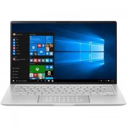 Ultrabook ASUS ZenBook 14 UM433DA-A5010R, AMD Ryzen 7 3700U, 14inch, RAM 8GB, SSD 512GB, AMD Radeon RX Vega 10, Windows 10 Pro, Icicle Silver