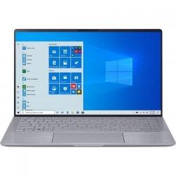 Ultrabook ASUS ZenBook 14 UM433IQ-A5024T, AMD Ryzen 5 4500U, 14inch, RAM 8GB, SSD 512GB, nVidia GeForce MX350 2GB, Windows 10, Light Grey