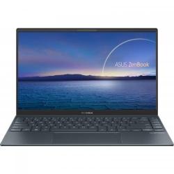 Ultrabook ASUS ZenBook 14 UX425EA-BM048, Intel Core i5-1135G7, 14inch, RAM 8GB, SSD 512GB, Intel Iris Xe Graphics, No OS, Pine Grey
