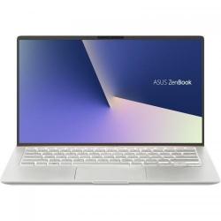 Ultrabook ASUS ZenBook 14 UX433FA-A5236R, Intel Core i7-8565U, 14inch, RAM 16GB, SSD 512GB, Intel UHD Graphics 620, Windows 10 Pro, Icicle Silver Metal