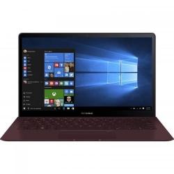 Ultrabook Asus ZenBook S UX391UA-ET088T, Intel Core i7-8550U, 13.3inch, RAM 8GB, SSD 256GB, Intel UHD Graphics 620, Windows 10, Burgundy Red