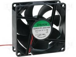 Ventilator 12V 2 fire pe lager Vapo 80x80x25mm DC80X80X25SB-2