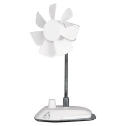 Ventilator pentru laptop Arctic Breeze USB, White