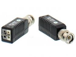 Video balun HD cu clip pentru cablu UTP/FTP; Cod EAN: 5948636027426