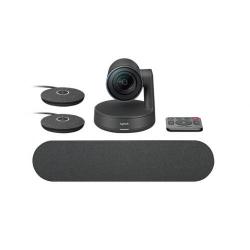 Camera videoconferinta Logitech Rally ConferenceCam, Ultra HD, Black
