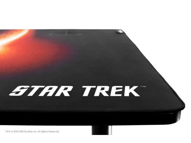 Birou gaming Arozzi Arena Leggero Star Trek Edition, Black