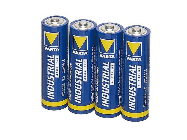 Baterie alcalina Mignon (AA R6) 1.5V 4006 Varta (Industrial) BAT-LR6-IND-BU-VAR