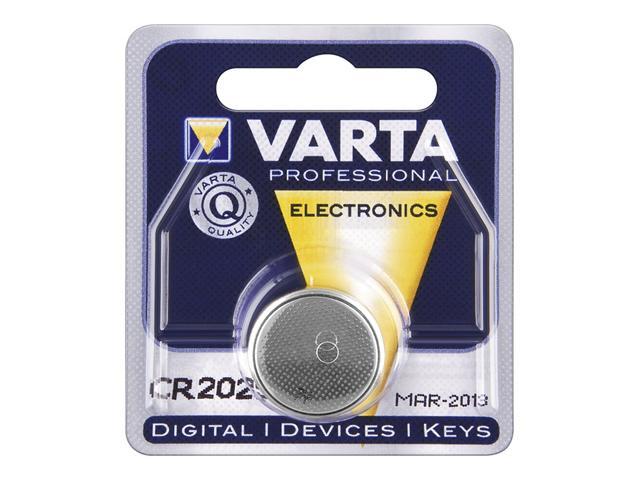 Baterie buton litiu 6025 CR2025 3V 170mAh Varta BAT-CR2025-BL-VAR